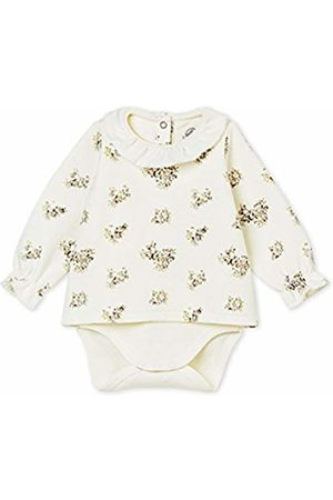 Petit Bateau Baby Girls' Body GUIMPE ML_4410001 Bodysuit