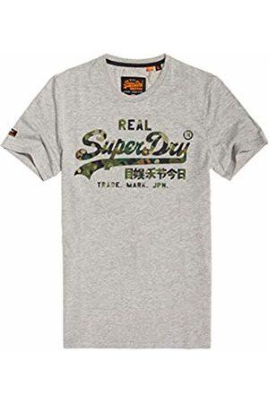 Superdry Men Short Sleeve - Men's Vintage Logo Layered Camo Tee T-Shirt
