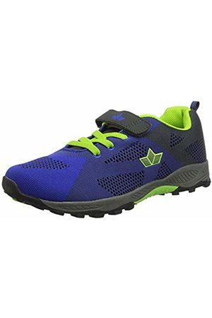 LICO Men's Jumper Vs Low-Top Sneakers, Blau/Grau/Lemon