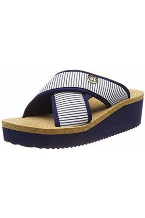 flip*flop Women's plateaucross Stripes Platform Sandals
