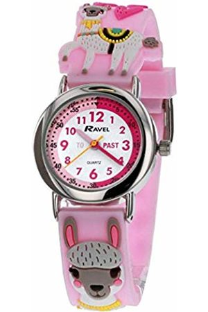 Ravel Girls Watches - Children's 3DLlama Time Teacher Watch