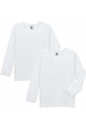 Petit Bateau Girl's T Shirt ML Vest, (Special LOT 00)