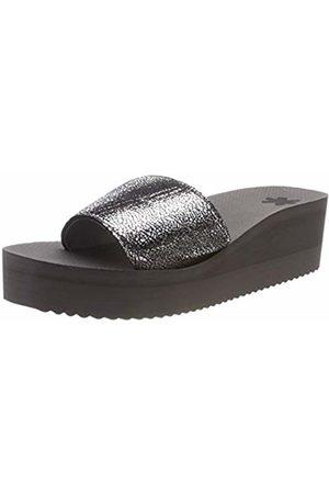 flip*flop Women's poolwedge Cracked Platform Sandals