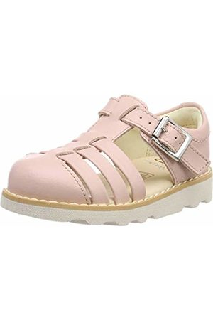 f9f611f095c9 Clarks Girls  Crown Stem T Closed Toe Sandals