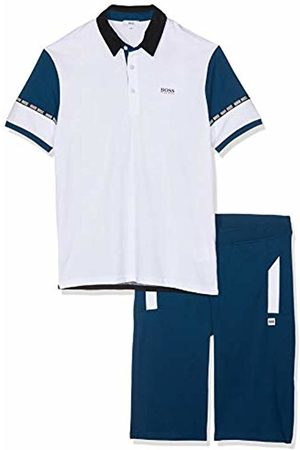 HUGO BOSS Boys Polo Shirts - Boy's Ens.Polo+Bermuda Clothing Set