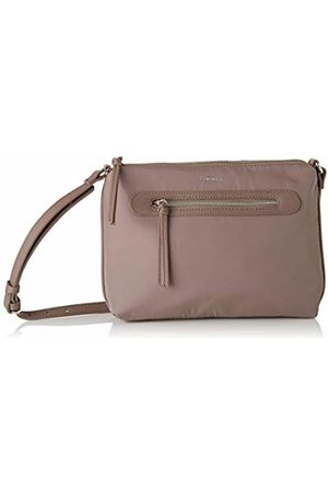 Fiorelli Womens Paige Canvas and Beach Tote Bag (Clay)