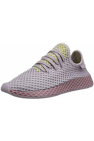 adidas Women's Deerupt Runner W Running Shoes, Soft Vision/Trace Maroon/Shock