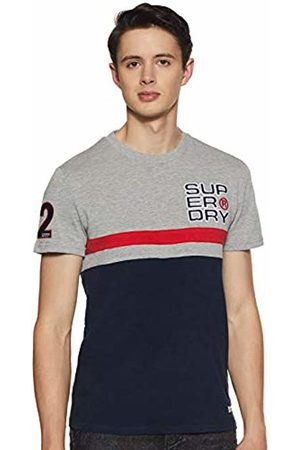 Superdry Men's Applique Cut & Sew 08 S/s Tee Kniited Tank Top