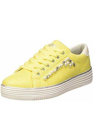 Xti Women's 48894 Low-Top Sneakers, Amarillo