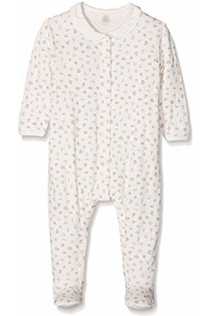 Petit Bateau Baby Girls' Tandelin Sleepsuit, (Marshmallow/Multicolor 01)