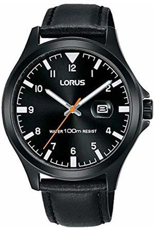 Lorus Mens Analogue Quartz Watch with Leather Strap RH967KX9