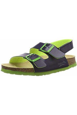 Superfit Boys' Fussbettpantoffel Ankle Strap Sandals