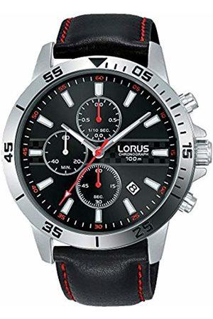 Lorus Men Watches - Mens Chronograph Quartz Watch with Leather Strap RM313FX9