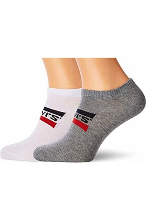 Levi's Men's 168sf Low Cut Sprtswr Logo 2p Ankle Socks, ( / 062)