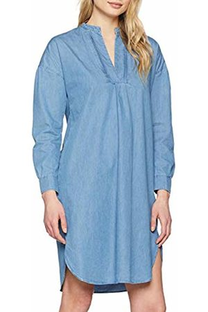 Seidensticker Women's Kleid Langarm Modern Fit Denim Uni Dress