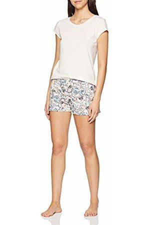 Skiny Women's Nostalgic Summer Sleep Pyjama Kurz Set