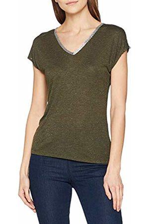 Morgan Women's 181-dasco.p Fonce T-Shirt, Olive Foncé