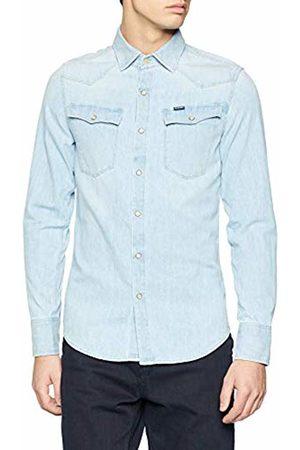 G-Star Men's 3301 Slim Shirt Denim