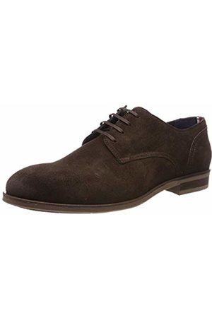 Tommy Hilfiger Men's Dress Casual Suede Shoe Oxfords, Braun (Coffee Bean 212)