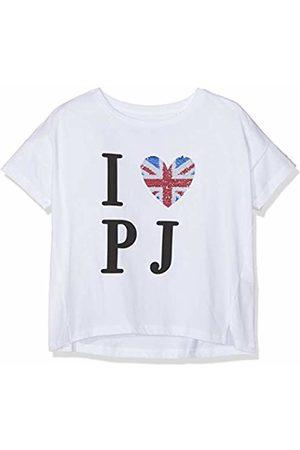 Pepe Jeans Girl's Kamila T-Shirt, (Optic 802)