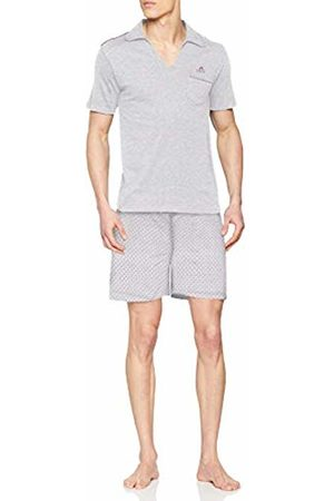ALAN BROWN Men's Ah.True.psh Pyjama Set, Gris Chiné