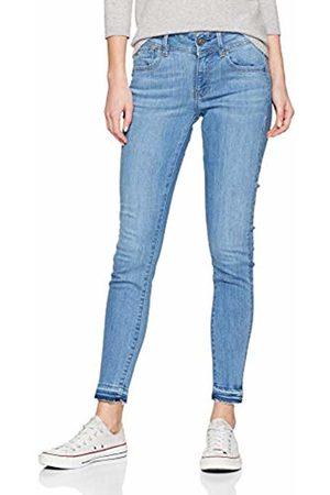 G-Star Women's Lynn Mid Waist Skinny Ripped Ankle Jeans)