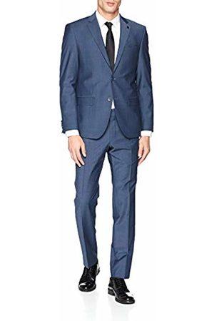 Daniel Hechter Men's Suit Modern Dh-x (Stahlblau 650)