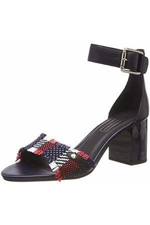 Tommy Hilfiger Women's Tommy Raffia Heeled Sandal Platform