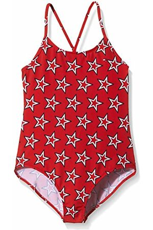 Tommy Hilfiger Girl's Dg Star Starred Swimsuit