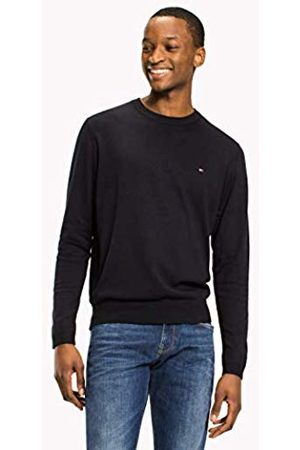 Tommy Hilfiger Men's Core Cotton-Silk Cneck Jumper