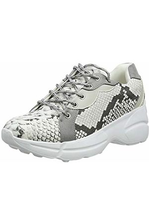 Lost Ink Women's Michelle Panelled LACE UP Trainer