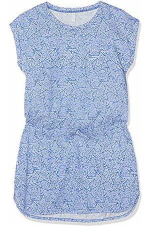 Sanetta Girl's Beach Dress Cover Up, (Azure)