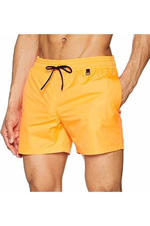Hom Men's Sunlight Beach Boxer Swim Shorts, ( Fluo 00jx)