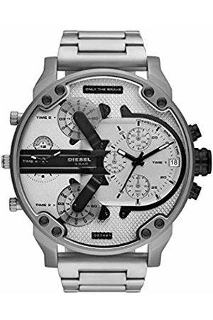 Diesel Mens Analogue Quartz Watch with Stainless Steel Strap DZ7421
