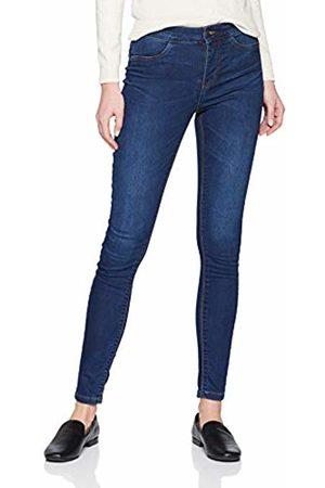 JDY Women's ella Jegging Rw DNM Noos Skinny Jeans, Dark Denim