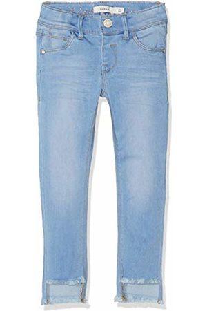 Name it Girl's Nkfpolly Dnmtia 2159 Ankle Pant Noos Jeans, Medium Denim