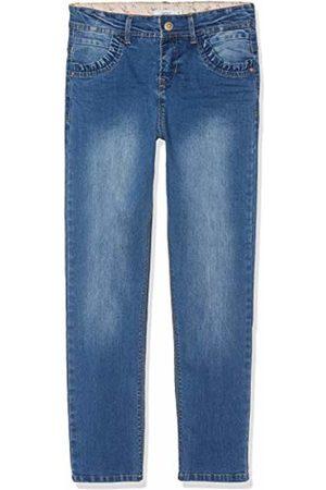 Name it Girl's Nkfbecky Dnmtereza 2164 Hw Pant Jeans, (Medium Denim)
