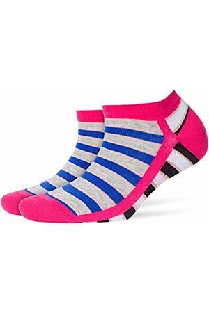 Burlington Women's Neon Stripe Ankle Socks