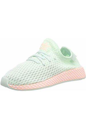 adidas Unisex Kids' Deerupt Runner C Gymnastics Shoes, Ice Mint/FTWR /Clear