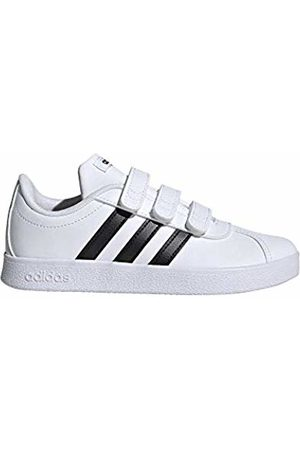 adidas Unisex Kids' Vl Court 2.0 CMF C Tennis Shoes, Core /FTWR