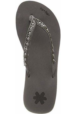 flip*flop Women's glamhi Pearls Schwarz (Steel 0170)