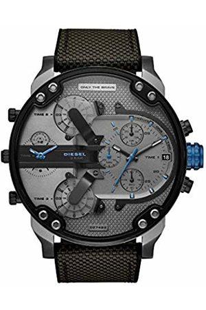 Diesel Mens Analogue Quartz Watch with Nylon Strap DZ7420