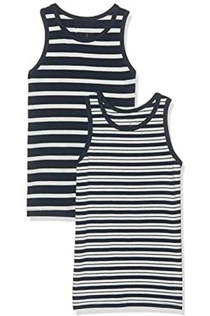 Name it Baby Boys' Nmmtank Top 2p Yd Noos Vest, Dark Sapphire