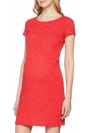 Noppies Women's Dress ss Zinnia Rot (Bittersweet P086)