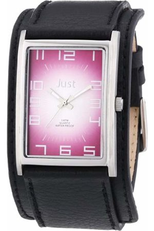 Just Watches Men's Quartz Watch 48-S9235RD with Leather Strap