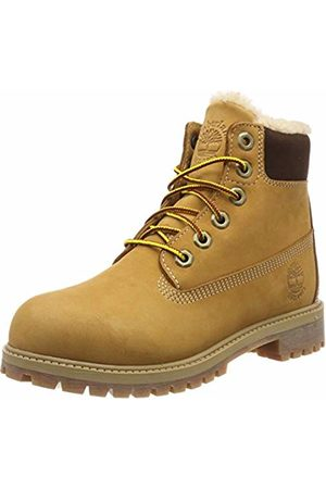 Timberland 6 In Classic Boot, Unisex Kids' Ankle Boots Classic Boots, (Wheat Waterbuck 231)