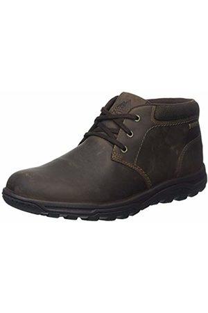 Rockport Men's Trail Technique Waterproof Mid Desert Boots, (Dark )