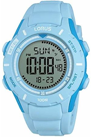 Lorus Girls Chronograph Digital Watch with Silicone Strap R2371MX9