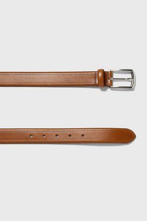Zara Men Belts - Embossed belt