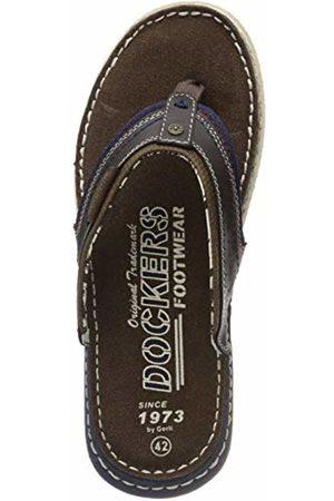 Dockers Men's's 44ps001-607360 Mules (Schoko 360) 10 UK